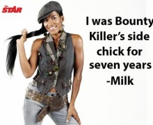 MILK OPENS UP ABOUT BEING BOUNTY KILLER'S SIDE CHICK FOR SEVEN YEARS