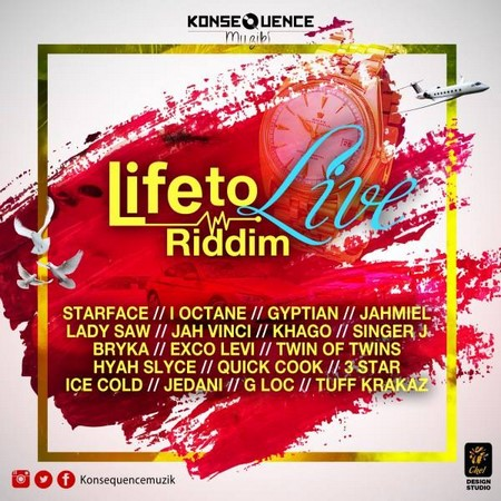 Life To Live Riddim Artwork
