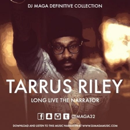 Tarrus Riley - Long Live The Narrator Cover