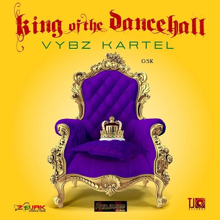 VYBZ KARTEL - KING OF THE DANCEHALL COVER