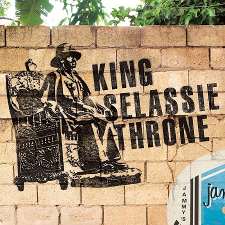 King sellassie throne riddim artwork