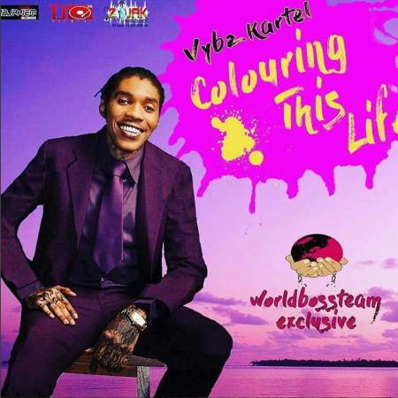 Vybz Kartel Colouring This Life Cover