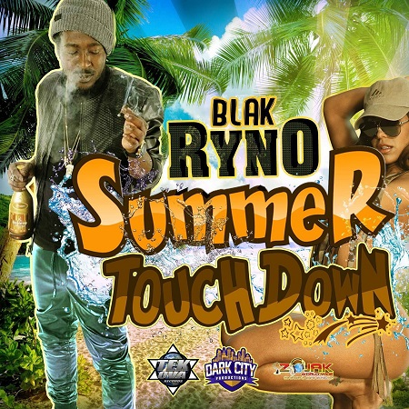 BLAK RYNO - SUMMER TOUCH DOWN ARTWORK