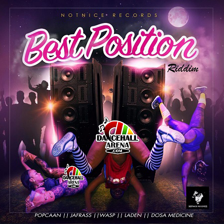 Best Position Riddim Artwork