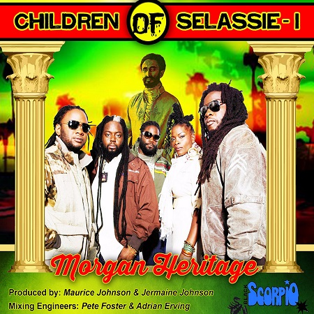 Morgan Heritage - Children Of Selassie-I Artwork