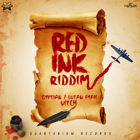 RED INK RIDDIM ARTWORK