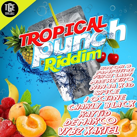 Tropical Punch Riddim Artwork