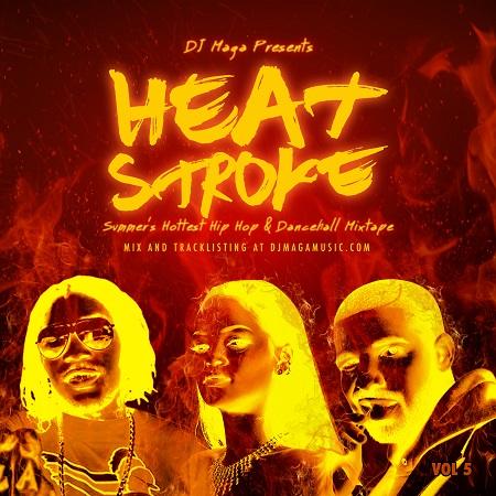 dj maga - heat stroke mixtape cover