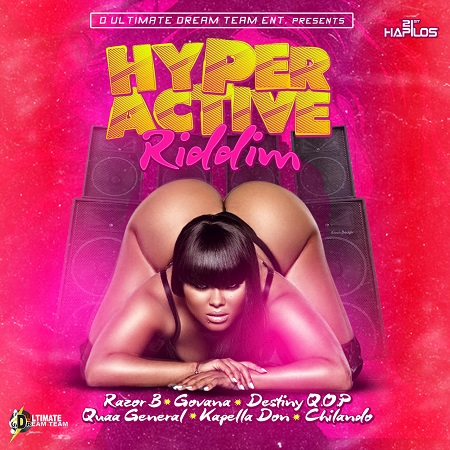 hyper active riddim cover