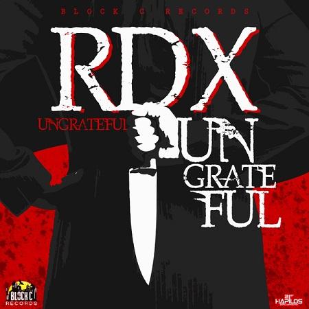 RDX - ungratful cover