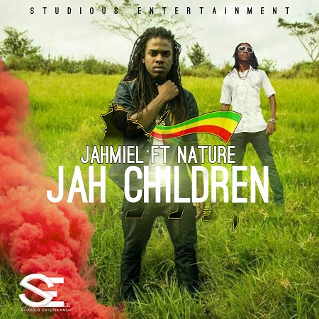nature x jahmiel - jah children artwork