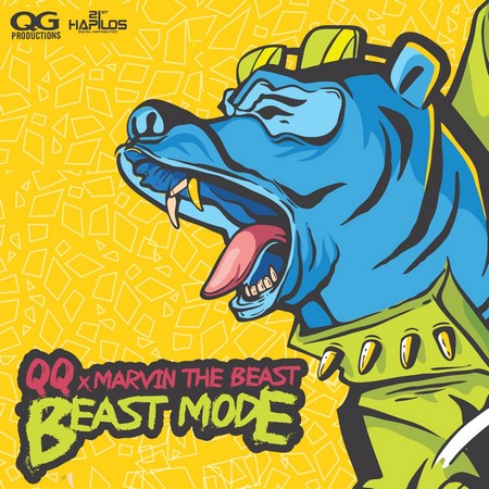 qq ft marvin - beast mode cover