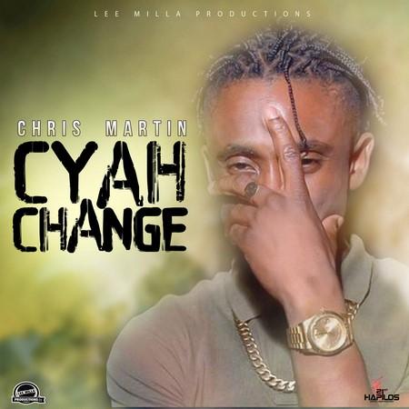 Chris martin - cyah change artwork