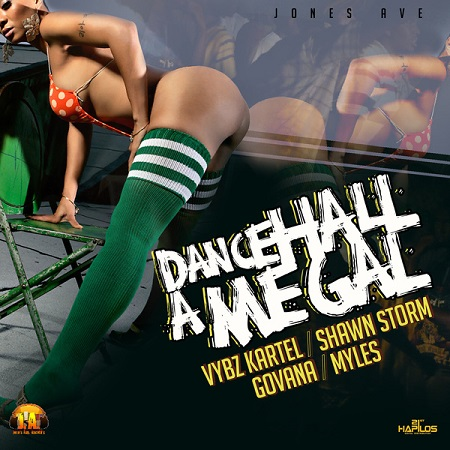 dancehall a me gal riddim artwork