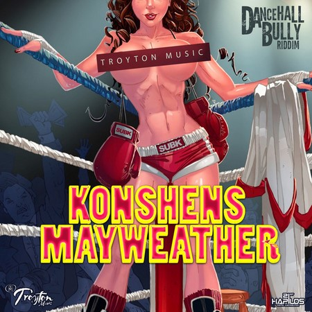 konshens - mayweather artwork