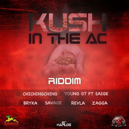 kush in the ac riddim artwork