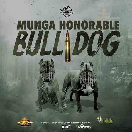munga - bull dog artwork