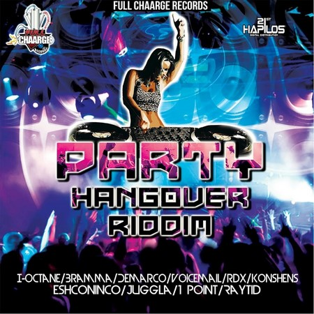 Party Hangover riddim Artwork