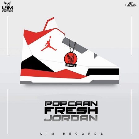 Popcaan - fresh jordan artwork