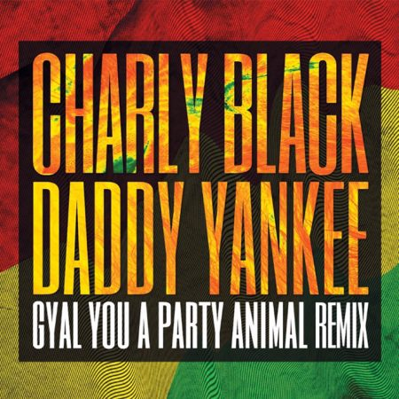 charly black ft daddy yankee - party animal remix artwork
