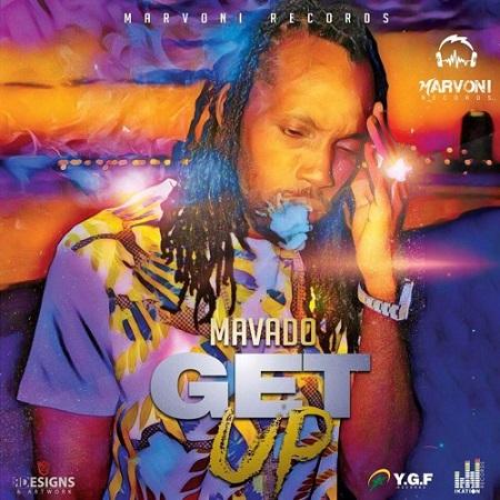 mavado - get up artwork