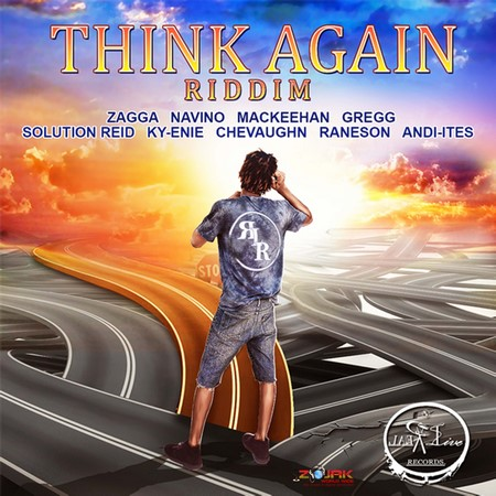 THINK AGAIN RIDDIM ARTWORK