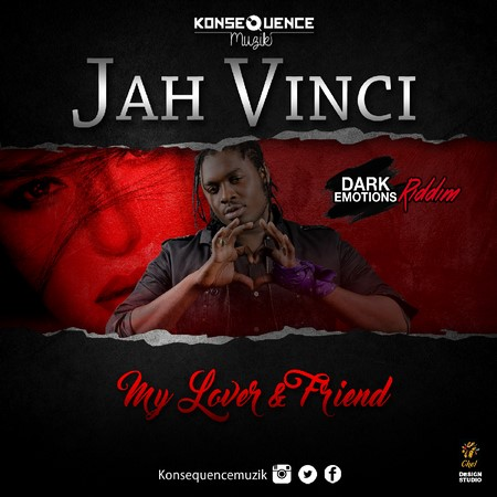 Jah Vinci - My Lover Friend Artwork