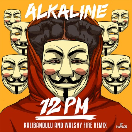Alkaline - 12 PM remix Cover