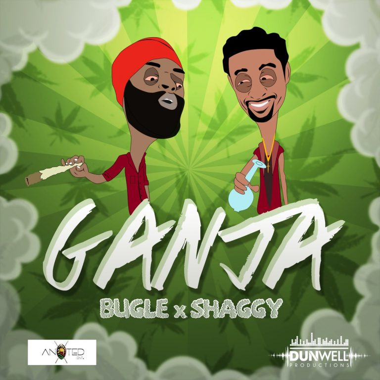 BUGLE FT SHAGGY - GANJA - AN9TED ENT - Dancehallarena.com