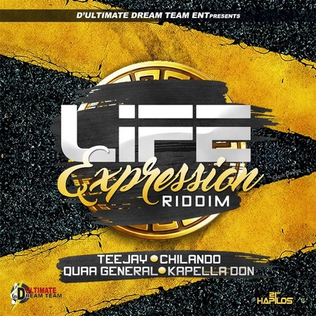 Life Expression riddim artwork