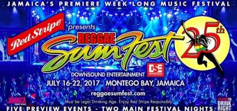 REGGAE SUMFEST 2017 EARLY BIRD TICKETS NOW AVAILABLE