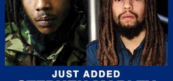 STEPHEN MARLEY & JO MERSA MARLEY PERFORMING TOGETHER AT REGGAE SUMFEST