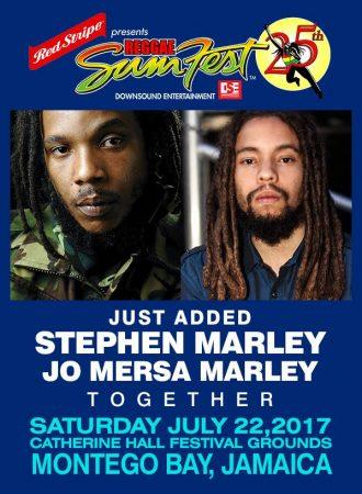 Stephen Marley & Jo Mersa Marley SUMFEST