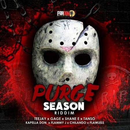 purge-season-riddim-cover PURGE SEASON RIDDIM [FULL PROMO] - PAPIDON MUZIQ