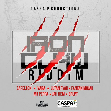 Iron-Claw-Riddim-Cover IRON CLAW RIDDIM [FULL PROMO] - CASPA PRODUCTIONS