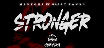 GAPPY RANKS – STRONGER – MARVONI RECORDS