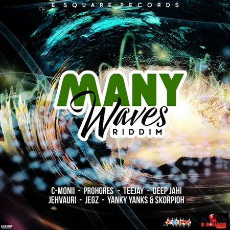 MANY-WAVES-RIDDIM-COVER MANY WAVES RIDDIM [FULL PROMO] - E SQUARE RECORDS