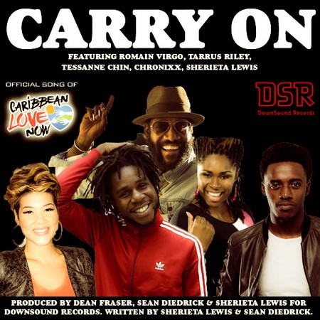 Romain-Virgo-Tarrus-Riley-Tessanne-Chin-Chronixx-Sherieta-Lewis-Carry-On