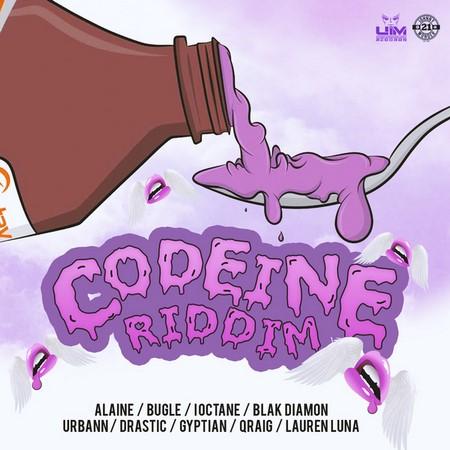 CODEINE-RIDDIM-COVER CODEINE RIDDIM [FULL PROMO] - ANJU BLAXX _ KADEEM UIM _ UIM RECORDS