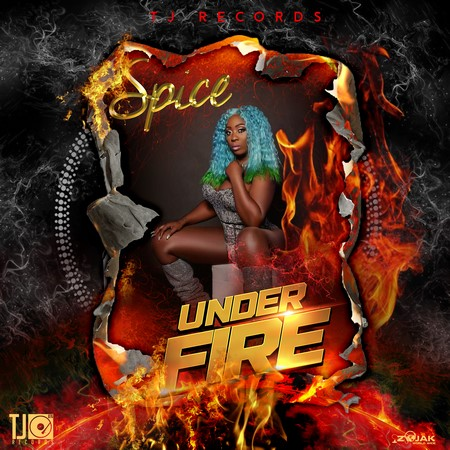 Spice-UNDER-FIRE-cover SPICE - UNDER FIRE [EXPLICIT & RADIO] - TJ RECORDS