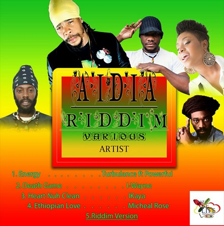 AIDIA-RIDDIM-COVER AIDIA RIDDIM [FULL PROMO] - LEAF OF LIFE RECORDS