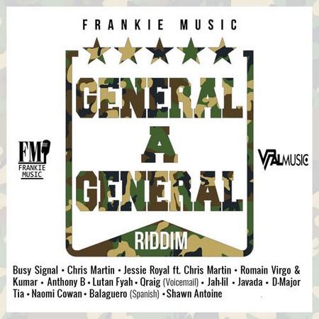 GENERAL-A-GENERAL-RIDDIM-COVER GENERAL A GENERAL RIDDIM [FULL PROMO] - FRANKIE MUSIC