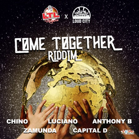 COME-TOGETHER-RIDDIM-COVER COME TOGETHER RIDDIM [FULL PROMO] - LARGER THAN LIFE RECORDS