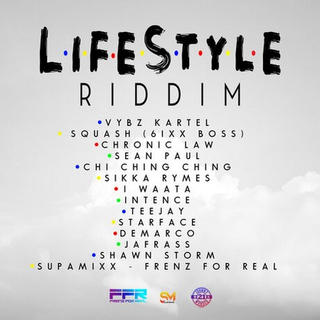 LIFESTYLE-RIDDIM-cover LIFESTYLE RIDDIM [FULL OFFICIAL PROMO] - REDBOOM SUPAMIX _ FRENZ FOR REAL