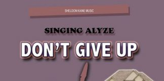 SINGING-ALYZE-DONT-GIVE-UP