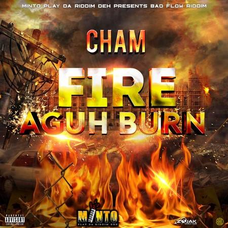 cham-fire-aguh-bun-cover CHAM - FIRE AGUH BUN - MINTO PIERRE RECORDS