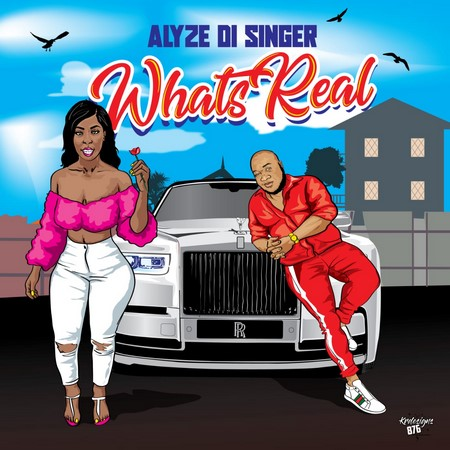ALYZE-DI-SINGER-WHATS-REAL-COVER ALYZE DI SINGER - WHATS REAL - VIO PRODUCTIONS