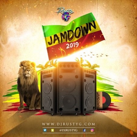 Jamdown-2019-Reggae-Mix DJ RUSTY G - JAMDOWN 2019 - REGGAE MIXTAPE