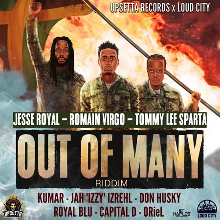 Out-of-Many-Riddim-Cover OUT OF MANY RIDDIM [FULL PROMO] - UPSETTA RECORDS X LOUD CITY