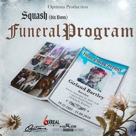 SQUASH-FUNERAL-PROGRAM-cover SQUASH - FUNERAL PROGRAM (ALKALINE DISS) - OPTIMUS PRODUCTIONS
